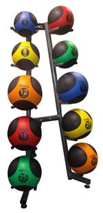 med - 10 ball rack 150