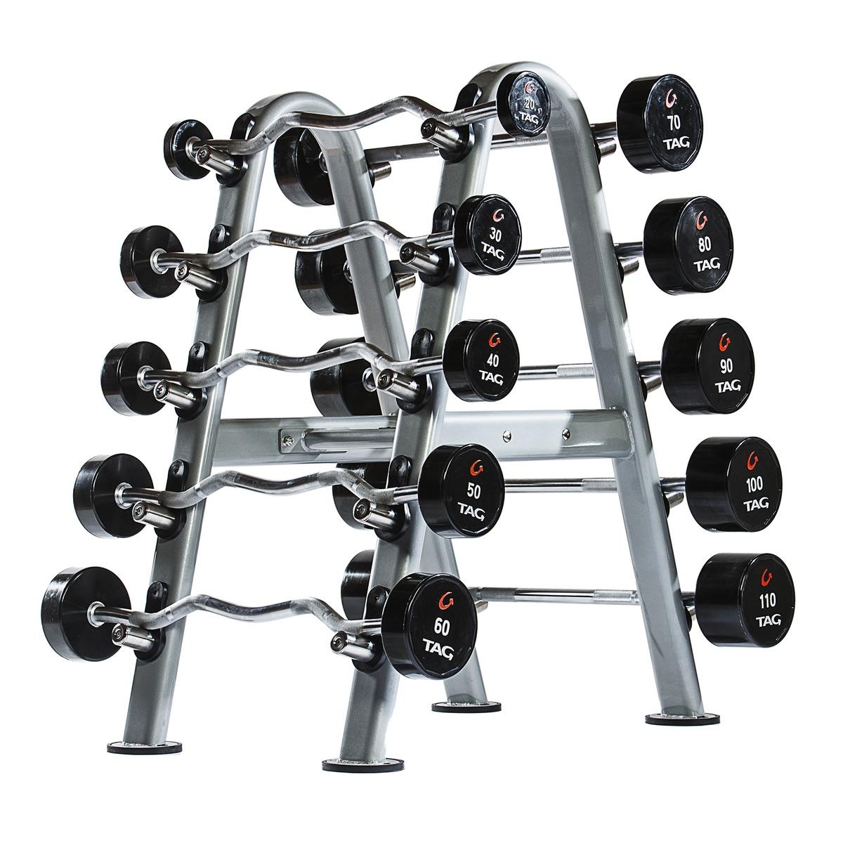 Tag 10 Unit Barbell Rack Tag Fitness
