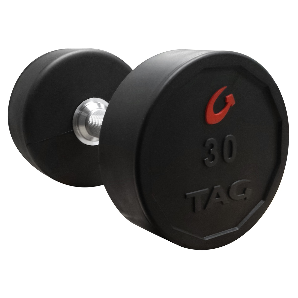 Tag Rubber Dumbbells Set Tag Fitness